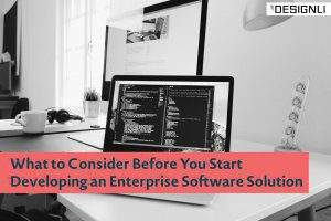 What to Consider Before You Start Developing an Enterprise Software Solution