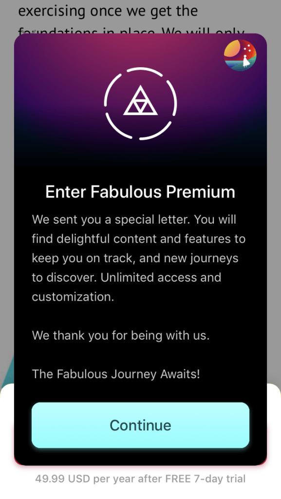 Fabulous premium