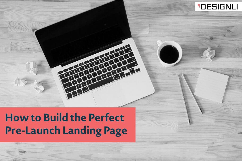 pre-launch landing page