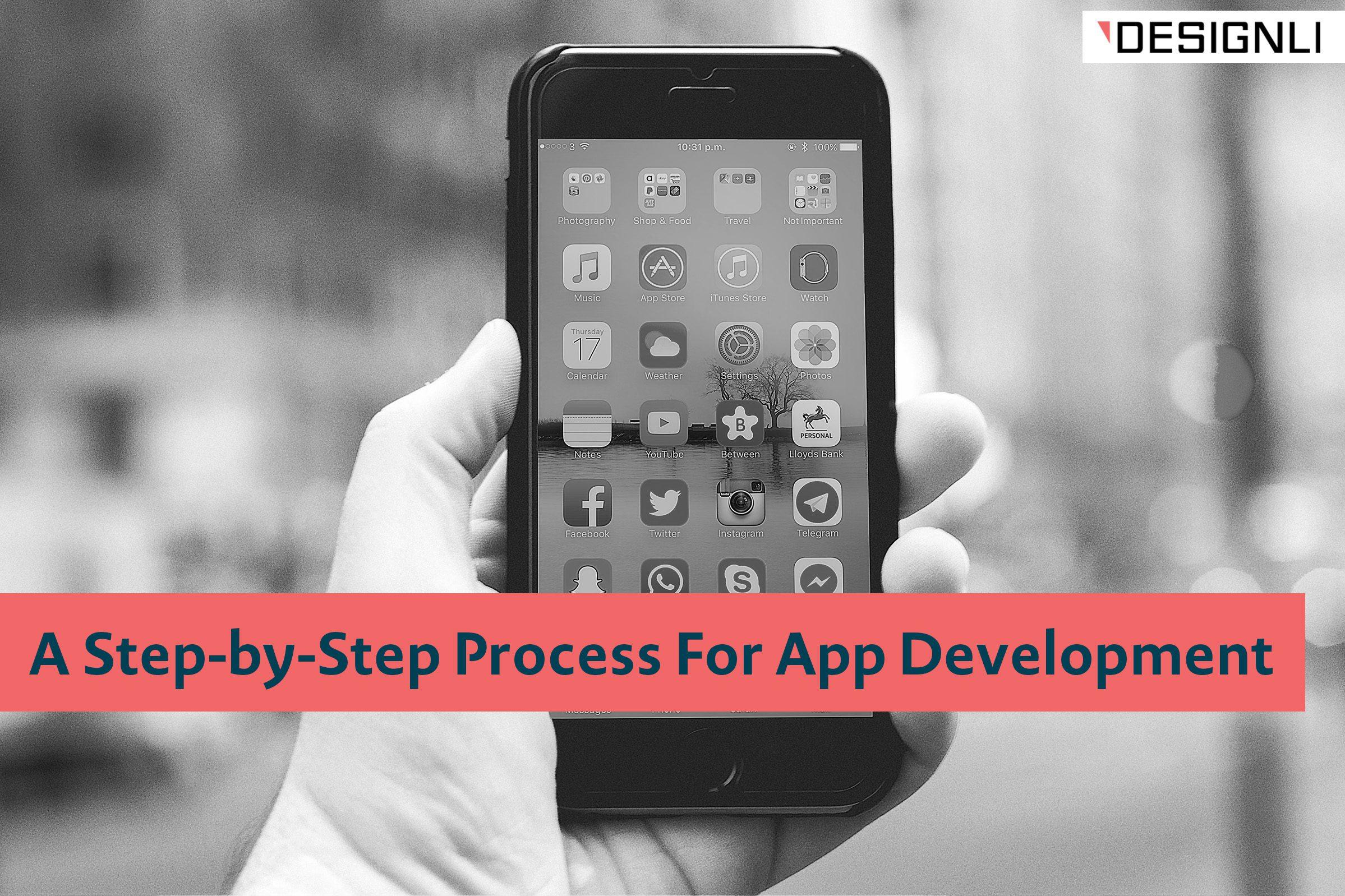 process for app development