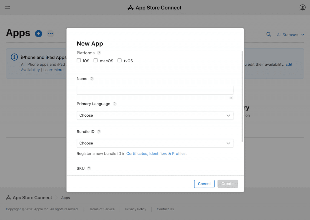 Create your app store listing